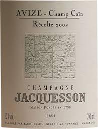 Jacquesson avize