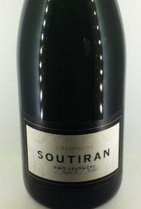Champagne Soutiran blanc de blancs